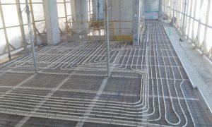Underfloor Heating Pipe Layout