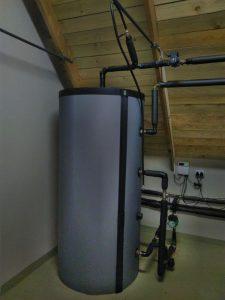 Underfloor Heating Buffer Tank
