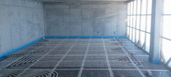 Water Based Floor Installation